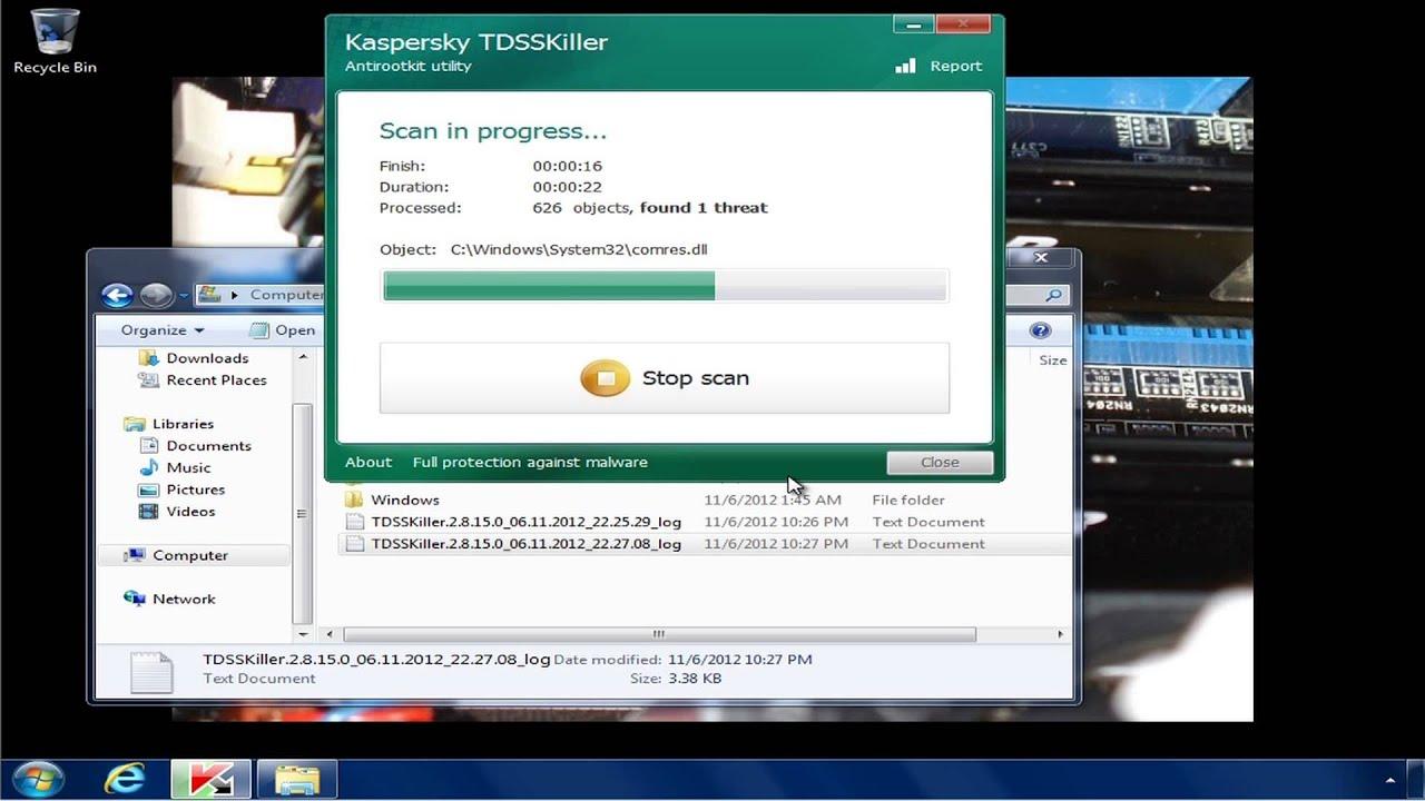 Kaspersky TDSSKiller - Free Download for Windows 10 [64 ...