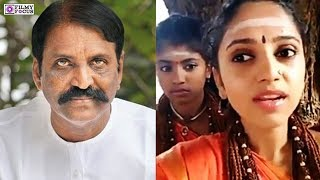 Nithyananda Girl abusing lyricist Vairamuthu for Andal issue  | Vairamuthu | Andal issue