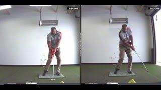 Golf Instruction Using Tour Striker Smart Ball at Fox Hills