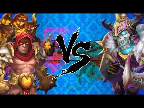 Castle Clash Grimfiend VS Skull Knight