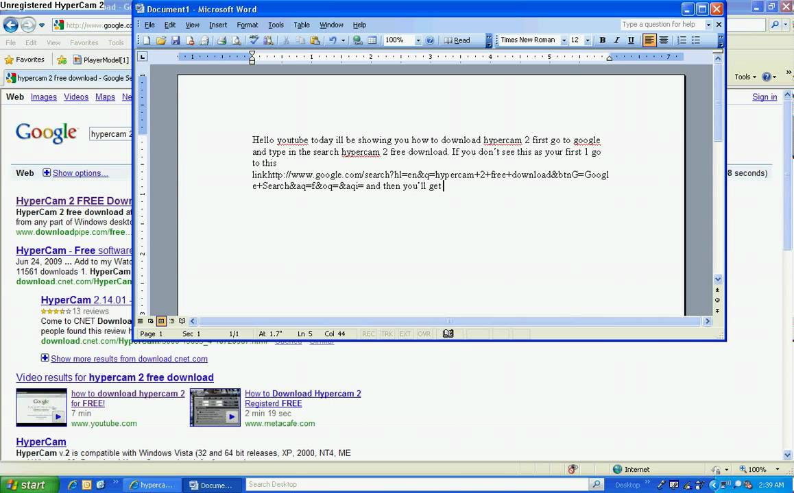 How to download hypercam 2 free