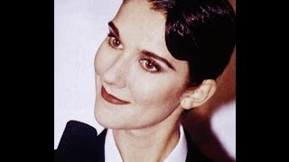 "CELINE DION ""LE BLUES DU BUSINESSMAN"" BEAUTIFUL ANDROGYNOUS CELEB PICS (BEST HD QUALITY)"