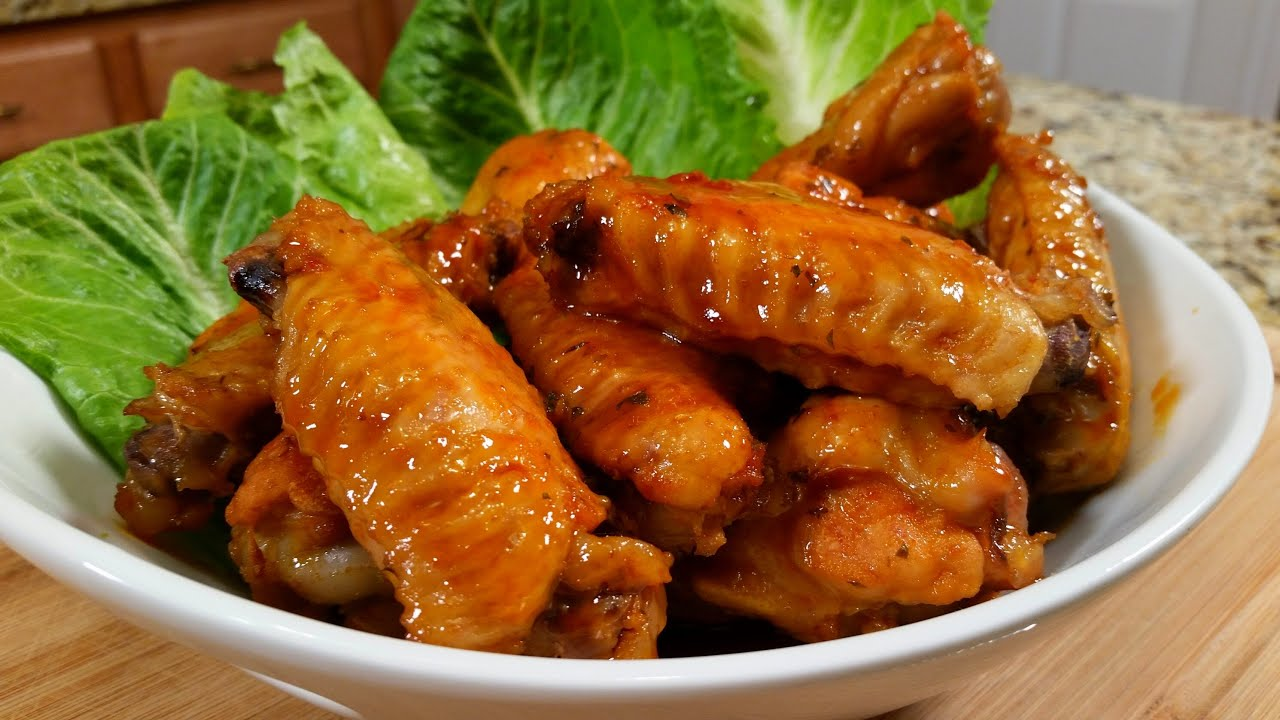 Sriracha Honey Wings - Super Bowl Football Finger Food - YouTube