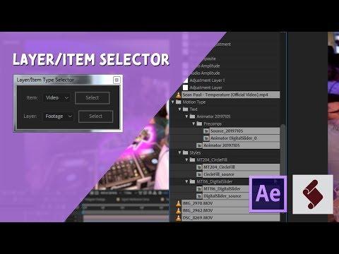 ExtendScript Tutorial: Layer/Item Selector thumbnail
