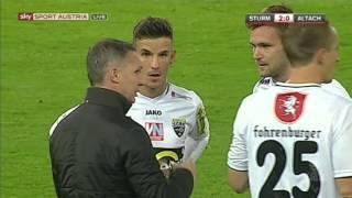 SK Puntigamer Sturm Graz : CASHPOINT SCR Altach 3:1 Deutsch