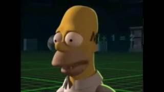 Homero al cubo (Parte 1/3) Los Simpson