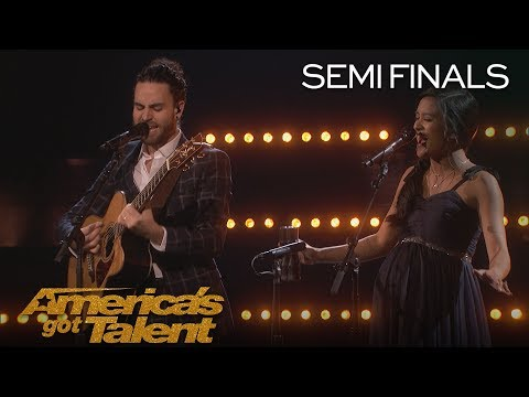 Us The Duo: Adorable Couple Performs Original Song,