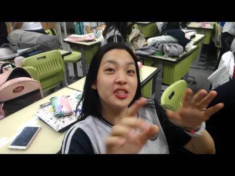 조회시간 vlog(Korean girls' high school)