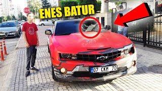 Enes Batur Un Evine Gittim Camaro Ss Arabada Gercek Konustuk Youtube