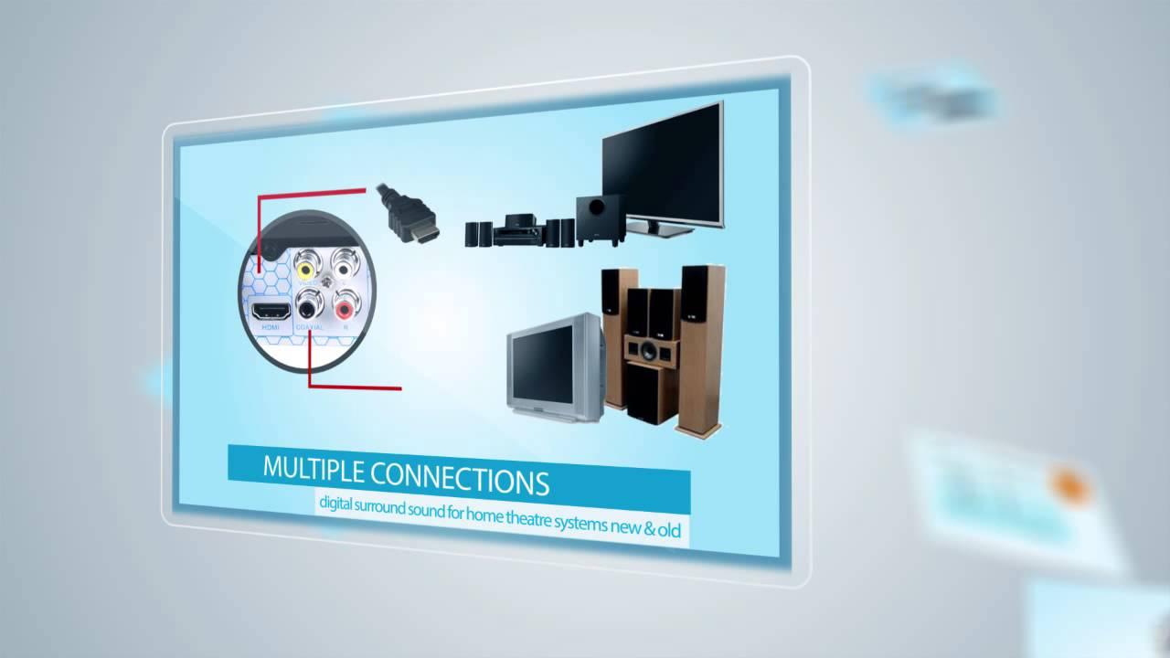 Blu-Ray Player Multi Region HDMI Digital 7.1, with LAN for DLNA ...