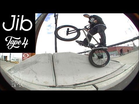 JIB: TAPE #4 (BMX STREET RIDING IN PHILLY)