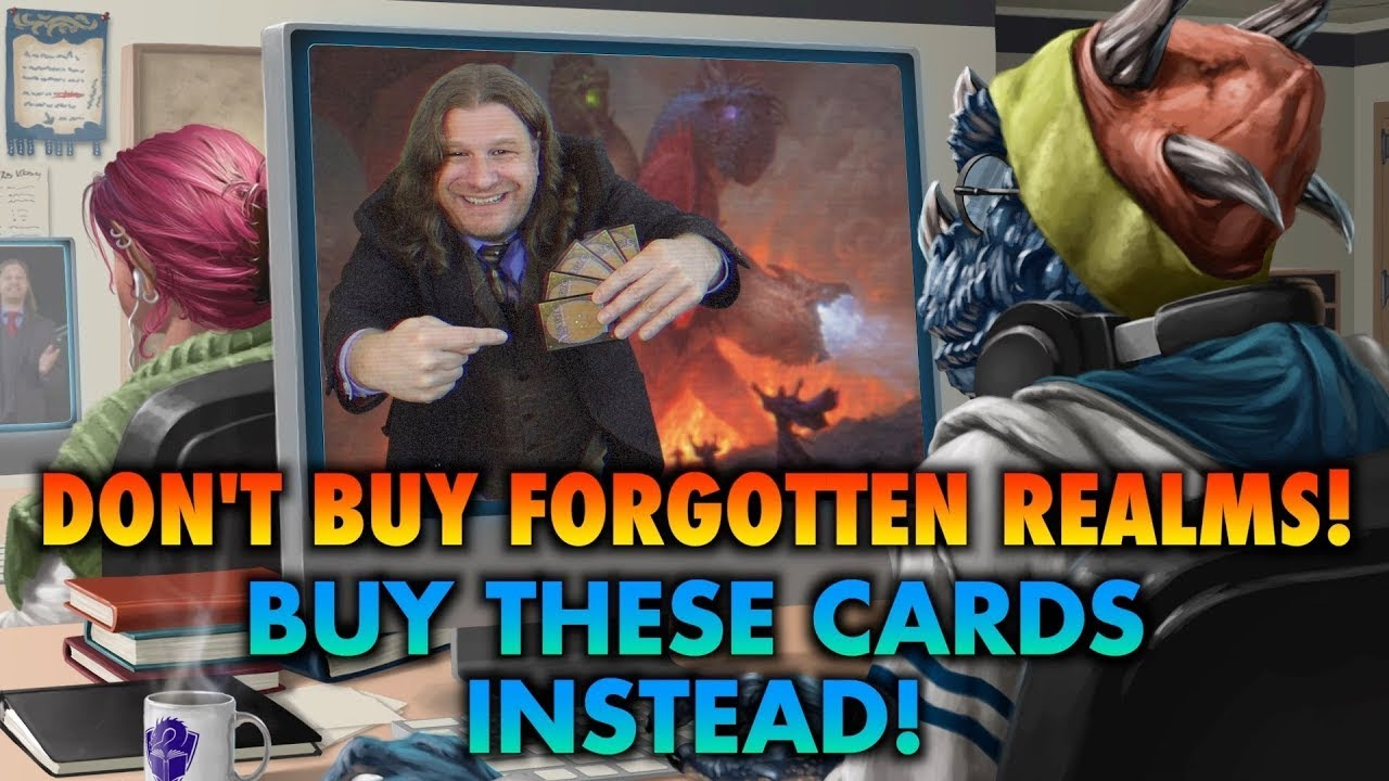 Download Don't Buy Magic's Adventures In The Forgotten Realms Set! Buy These Commander Cards Instead! MTG