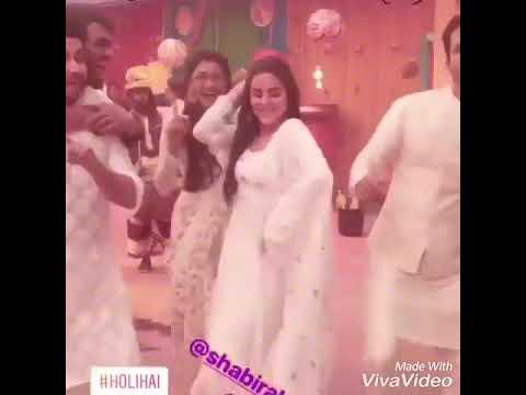 Kundali Bhagya : Karan  And Preeta  Cast  Msti  Holi  Celebrate  !! Shraddha  Arya Dheeraj Love