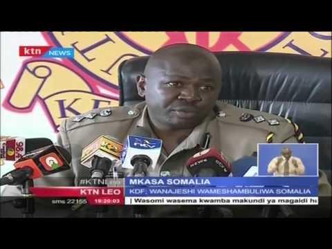 Kundi la Al shabab lawavamia wanajeshi wa Kenya nchini Somalia