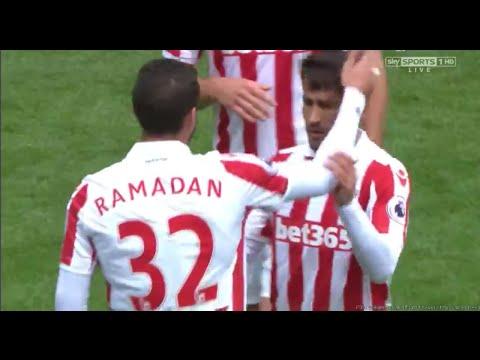 Ramadan Sobhi (debut) vs Manchester City 20/08/16 HD