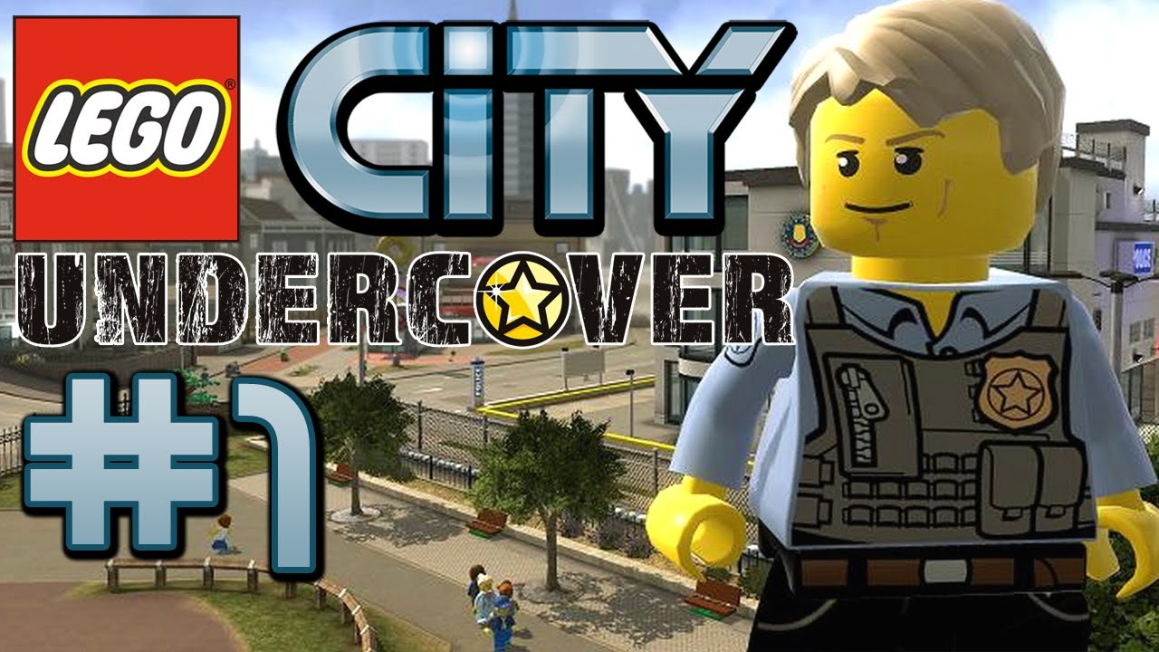 LEGO City Undercover Gameplay 1  Lets Play Lego City Undercover