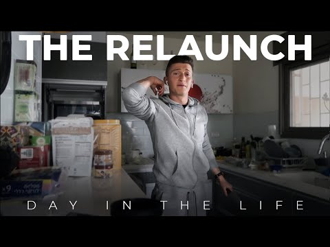 A Day in the Life of a Footballer in Israel-The ReLaunch-Ep. 1