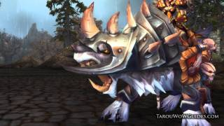 Cata - New Rated Battlegrounds Vicious War Wolf & Vicious War Steed Ground Mounts Preview!