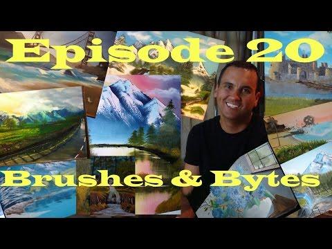 Ep. 20: (Looking Back at Paintings #1-10) – Oil Painting Video Blog of Artist Ryan G. Williams