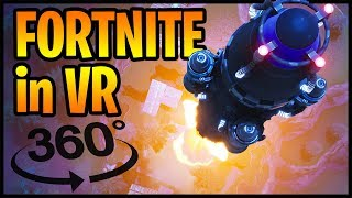 Fortnite Rocket Launch in 360° VR (360 video) thumbnail