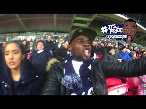 Tottenham Hotspur vs Stoke City 5-1- A FAN EXPERIENCE  | CHAMPAGNE FOOTBALL MASTER CLASS