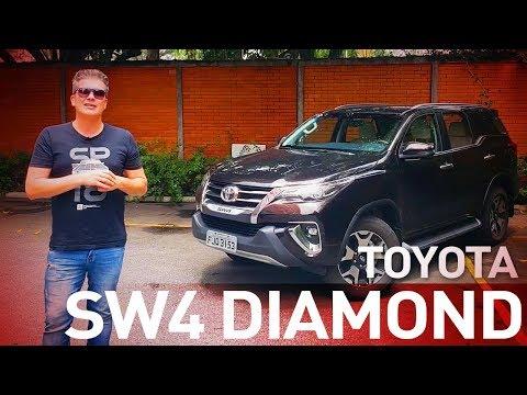 Toyota SW4 Diamond - O SUV médio mais querido do Brasil? - A Roda #64