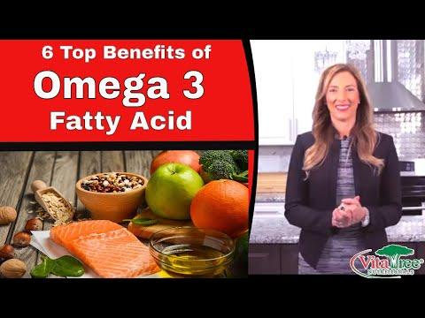 6 Top Omega 3 Fatty Acid Benefits : Omega 3 Benefits - VitaLife Show Episode 313