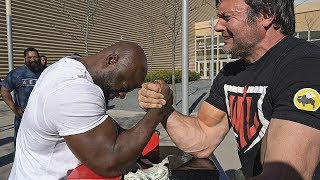 Can You Beat Devon Larratt at ARM WRESTLING ?