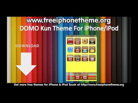 Domo-kun Theme for iPhone & iPod Touch