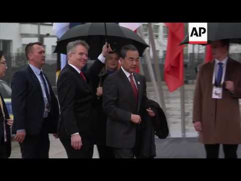 Foreign ministers gather for G20 meeting in Bonn
