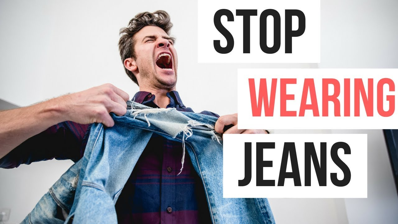 STOP WEARING JEANS | Men's Outfit Ideas Fall 2017 | What to Wear 5