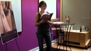 Kristi Bowman reads from her memoir, Journey to One