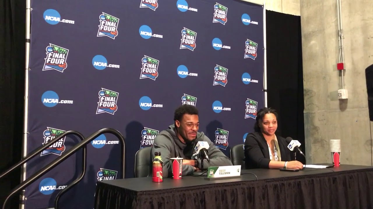 Xavier Tillman details the Michigan State hoops family