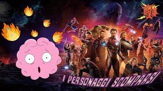 COSA ACCADRÀ in AVENGERS 4? - EP1: I personaggi scomparsi in Infinity War