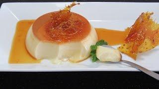 ФЛАН или КРЕМ-КАРАМЕЛЬ в пароварке испанская французская кухня ☀ Flan creme caramel ДЕСЕРТ РЕЦЕПТ