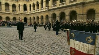 France holds solemn ceremony for victims of Paris attacks