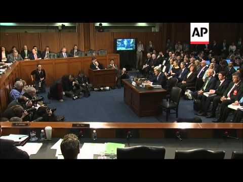 Senate Foreign Relations Committee begins confirmation hearing; Hillary, Kerry, heckler