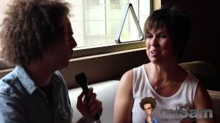 Sam Roberts & Vickie Guerrero on Excuse Me, Fans, Best Kiss, Eddie, & More