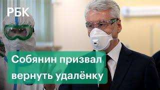 Коронавирус в России возвращение удаленки в Москве рекорд по суточному приросту Коронавирус 25 09