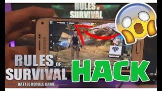 Rules of Survival unlimwited health hack in Android device how to play hack 100% working-😱😱