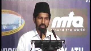 Ahmadiyya: Huzoor at a Reception at Ernakulam Kerala, India 2008 (3/5)
