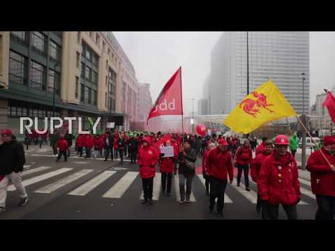 Belgium: Trade unions condemn pension reform in Brussels