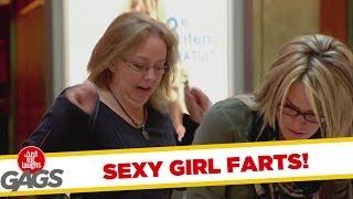 SEXY GIRL FART PRANK