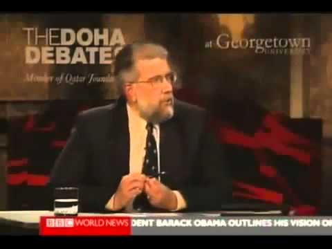 Tough on Israel - Doha Debate 1/4