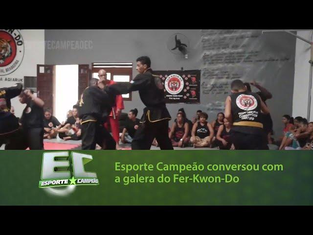 O Esporte Campeão conversou com a galera do Fer-Kwon-Do