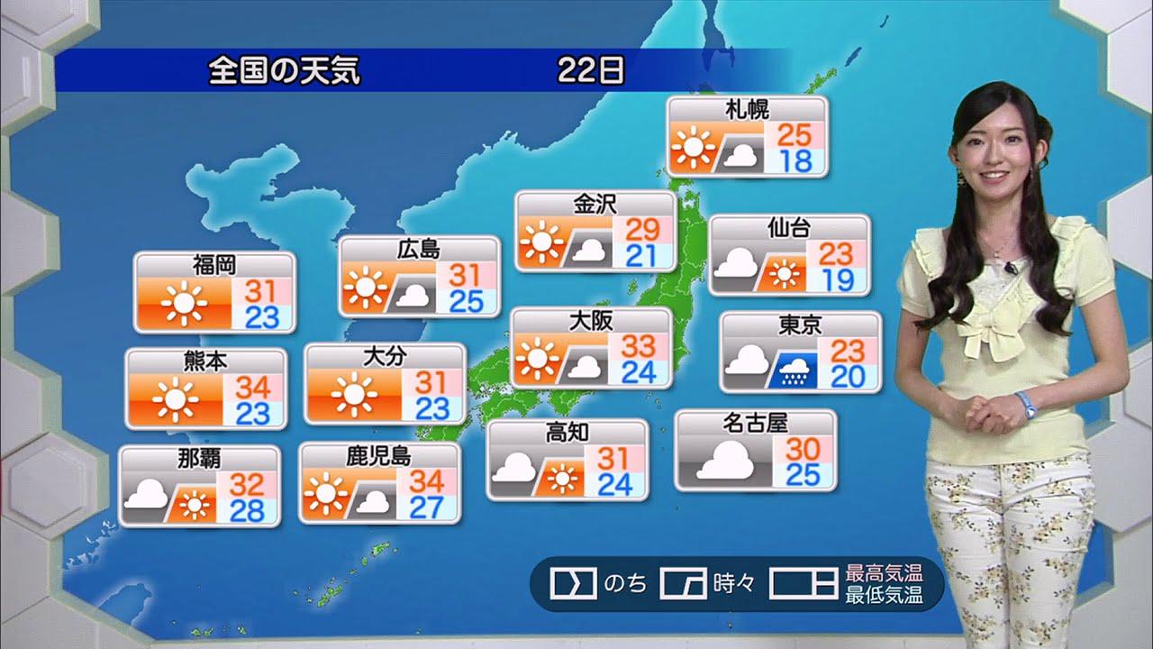 ☆お天気キャスター解説☆ 7月22日...