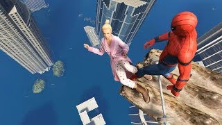 GTA 5 Spiderman Funny Fails Ep.33 (Euphoria Physics)