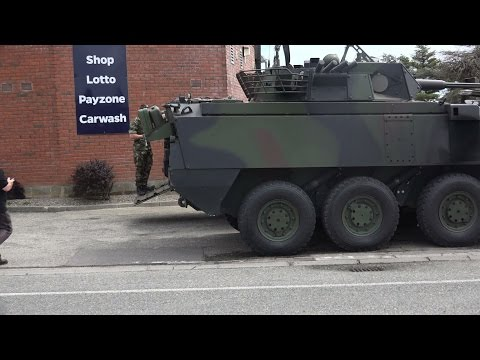 Mowag Piranha 8x8 Armoured Personal Carrier