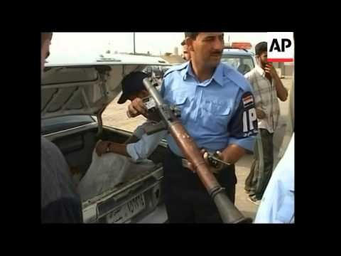 WRAP Basra violence; Heet patrols, tanker aflame in Baghdad