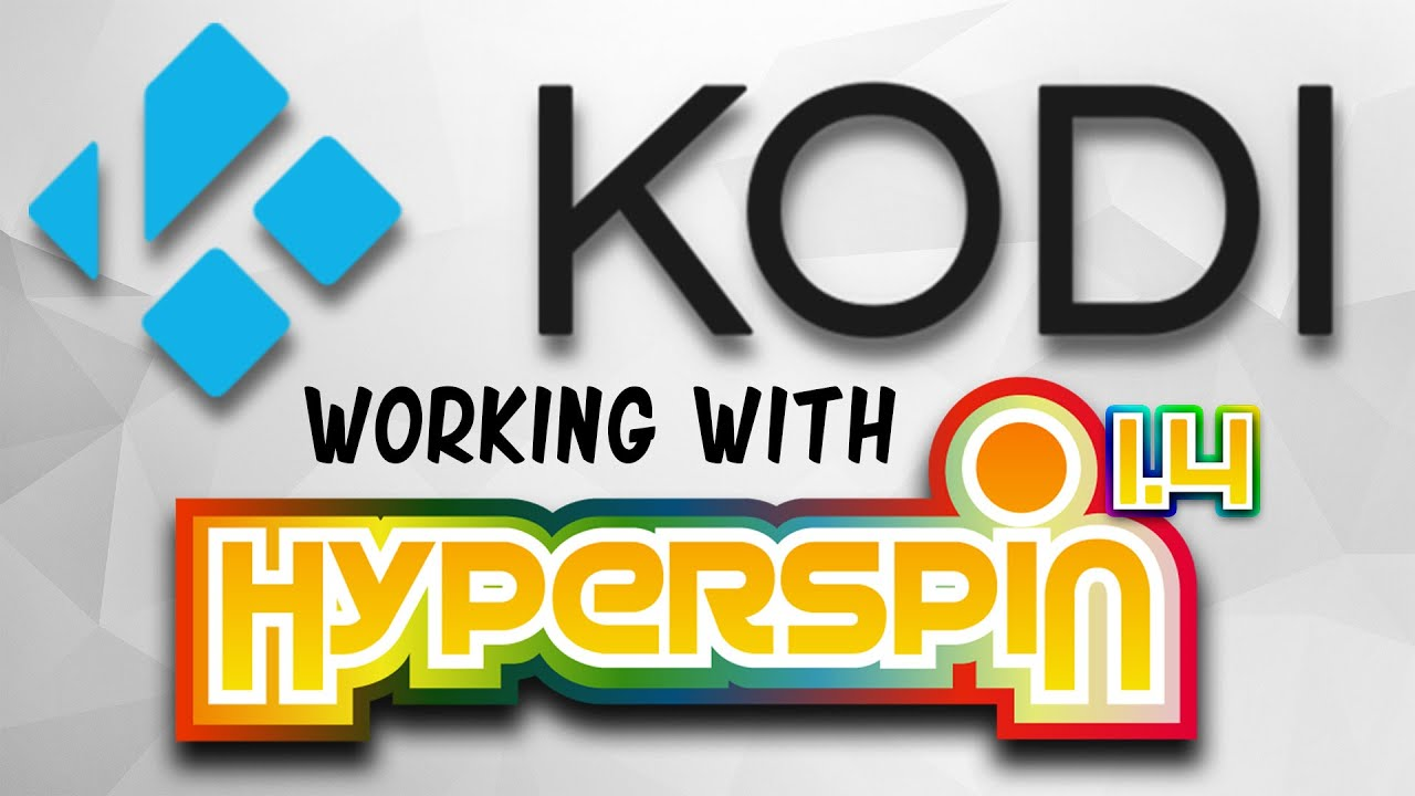 HYPERSPIN and KODI Install guide with all MEDIA!